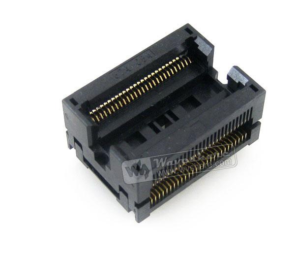 674C1542211A11 Wells IC Test  Burnin Socket for TSOP54