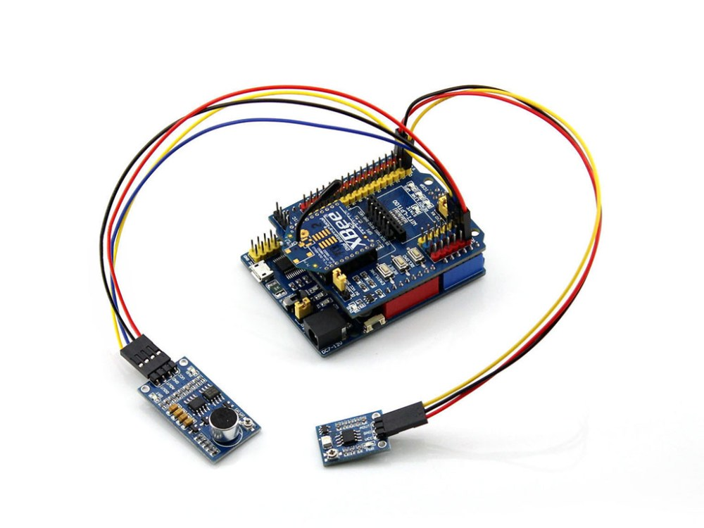 medium resolution of arduino uno plus connecting with xbee module and sensors