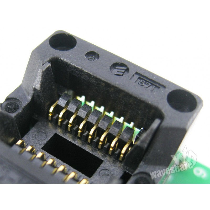 SOP16 TO DIP16 A Enplas IC Programmer Adapter for SOP8