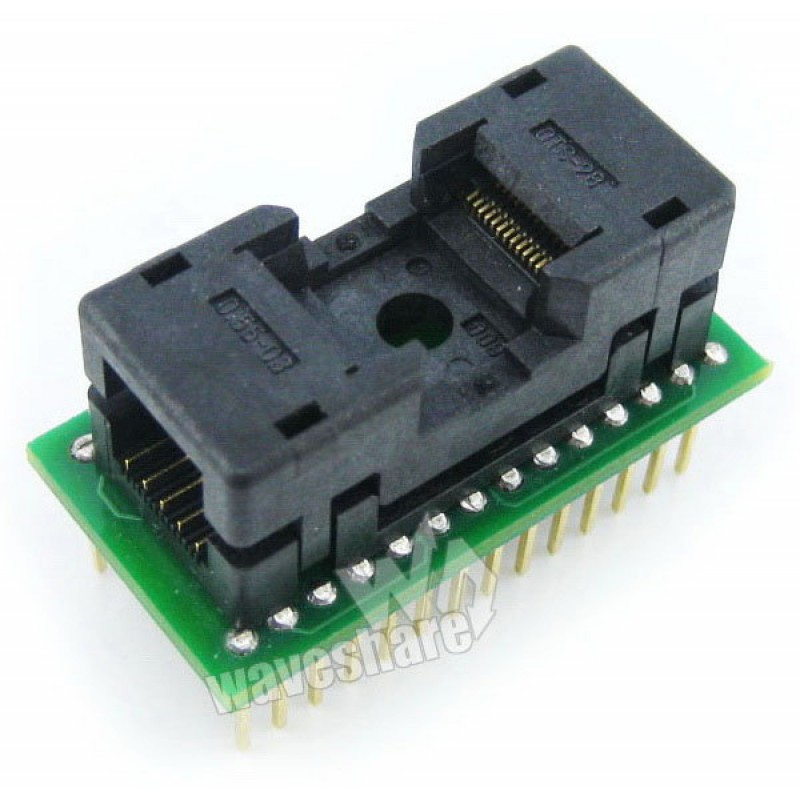 TSOP28 TO DIP28 Enplas IC Programmer Adapter for TSOP28