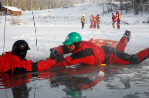 Ice Rescue Courses in the Northwest and the midwest of USA