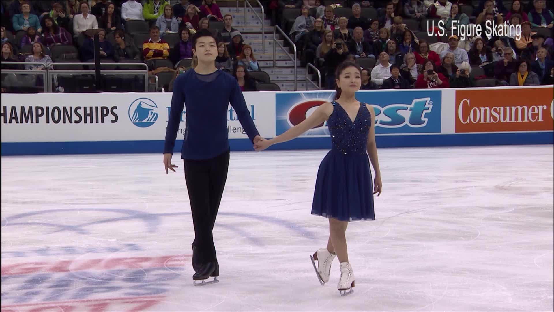 Ice Dancing Pair_674231