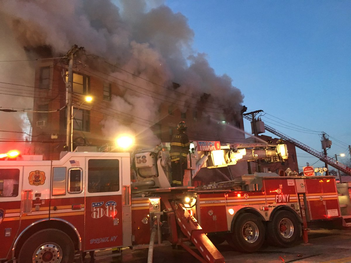 Bronx Building Fire_666449