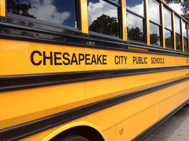 Chesapeake School Bus