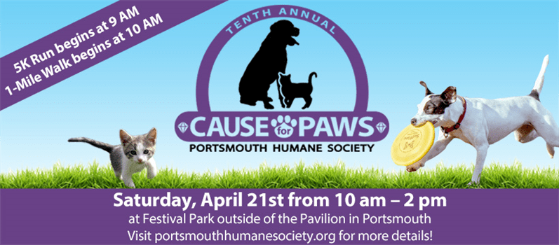 2018 Cause for Paws Portsmouth Humane Society