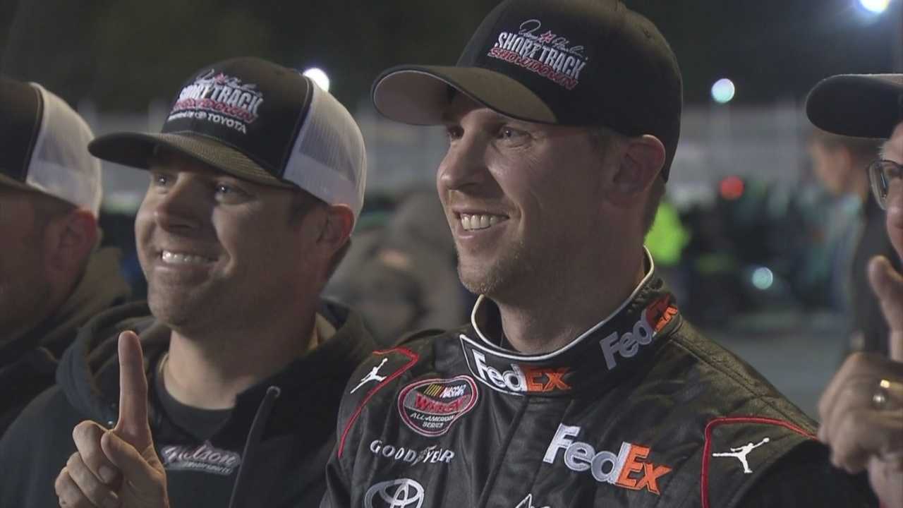 Homecoming win; Hamlin takes Short Track Showdown at Langley