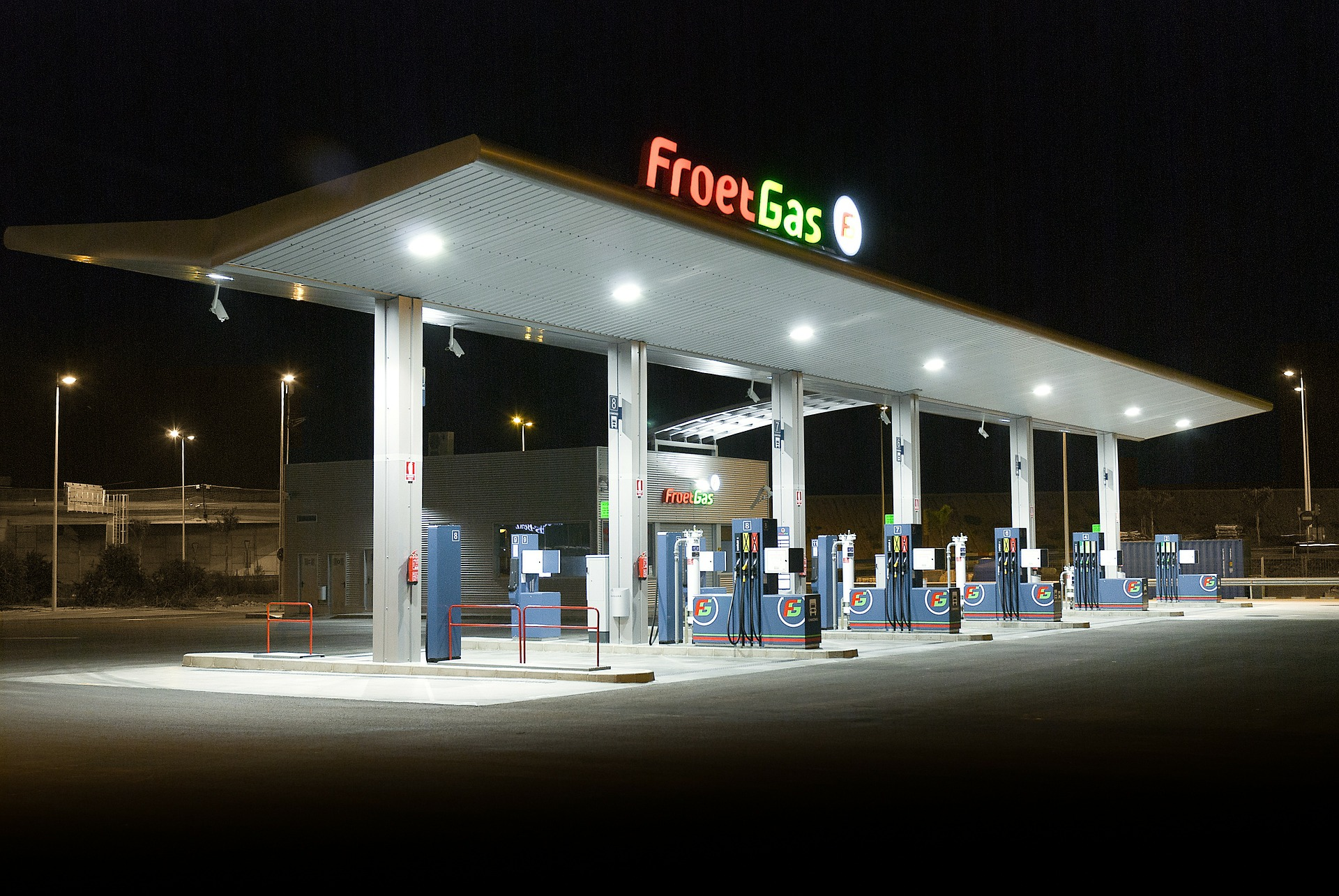 Gas station, generic