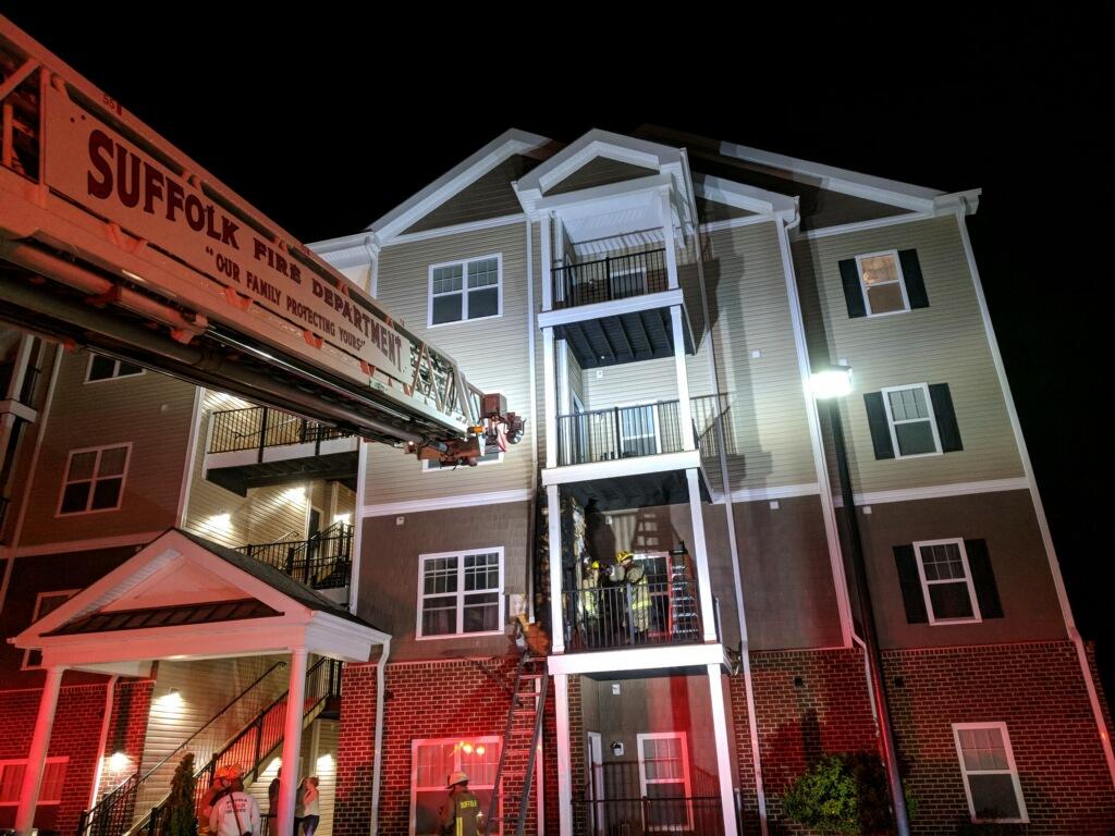 Suffolk Apartment Fire - 2