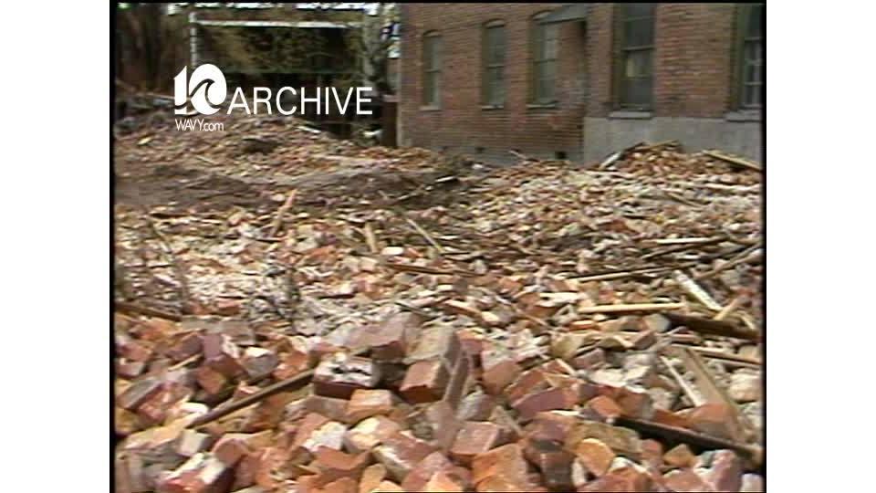 WAVY Archive: 1981 Norfolk Huntersville Section Church Street