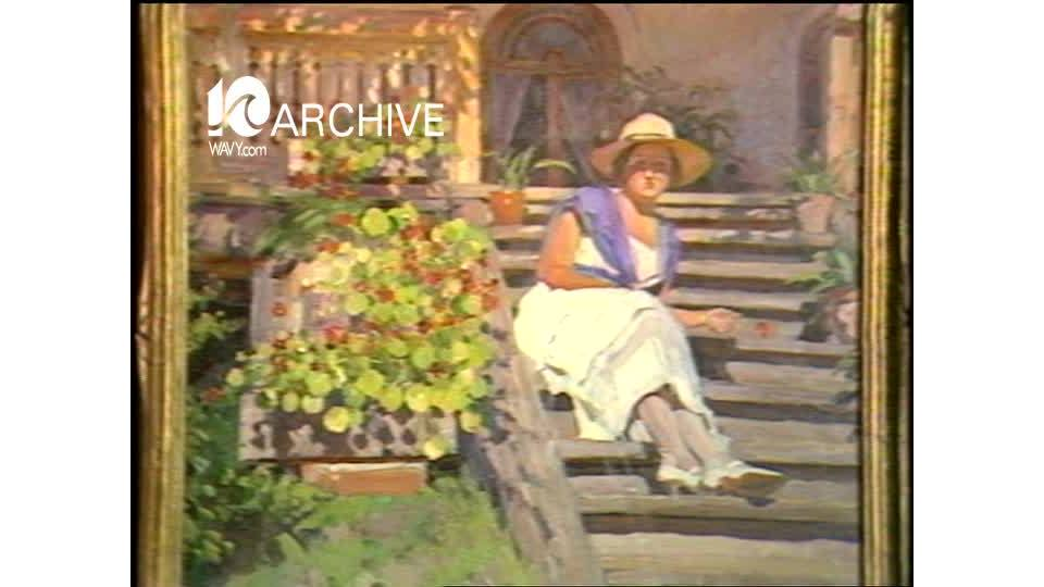 WAVY Archive: 1981 Peninsula Russian Art Exhibit