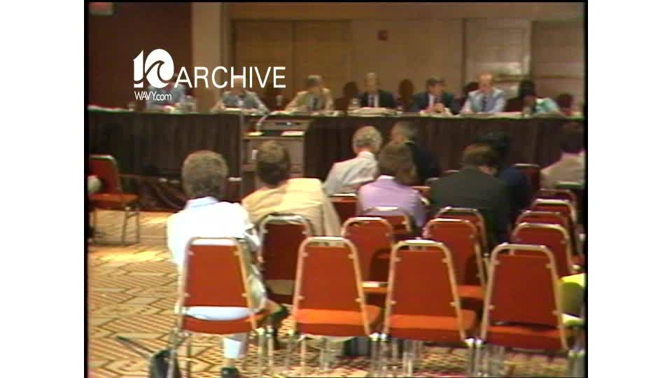 WAVY Archive: 1981 State Board of Health