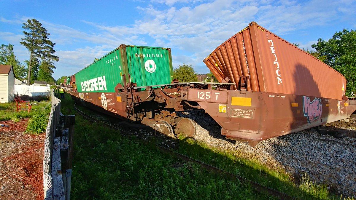 Suffolk Train Derailment