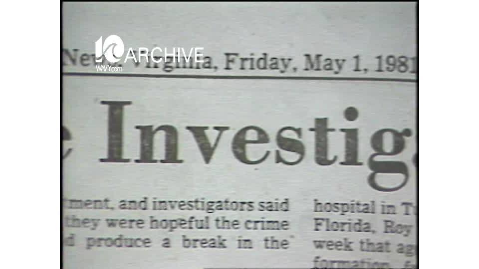 WAVY Archive: 1981 Atlanta Slayings