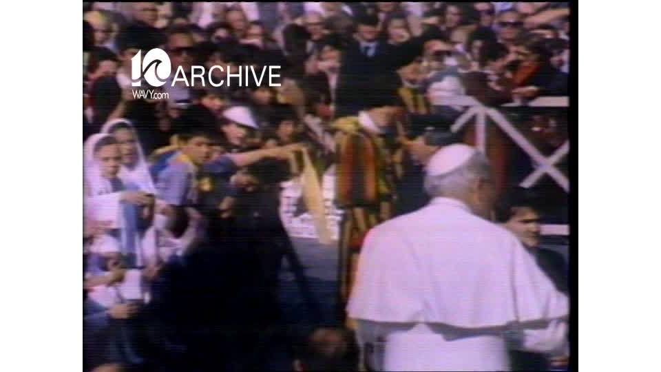 WAVY Archive: 1981 Pope Shooting