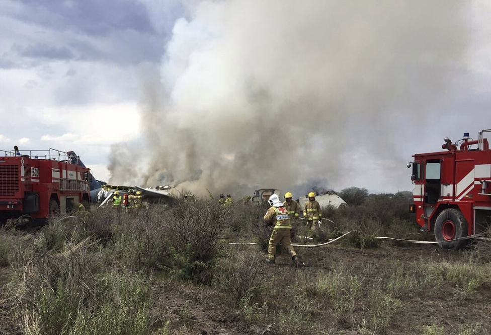 Mexico Airliner Accident