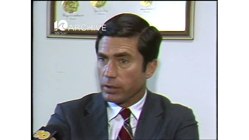 WAVY Archive: 1981 Chuck Robb Reaction
