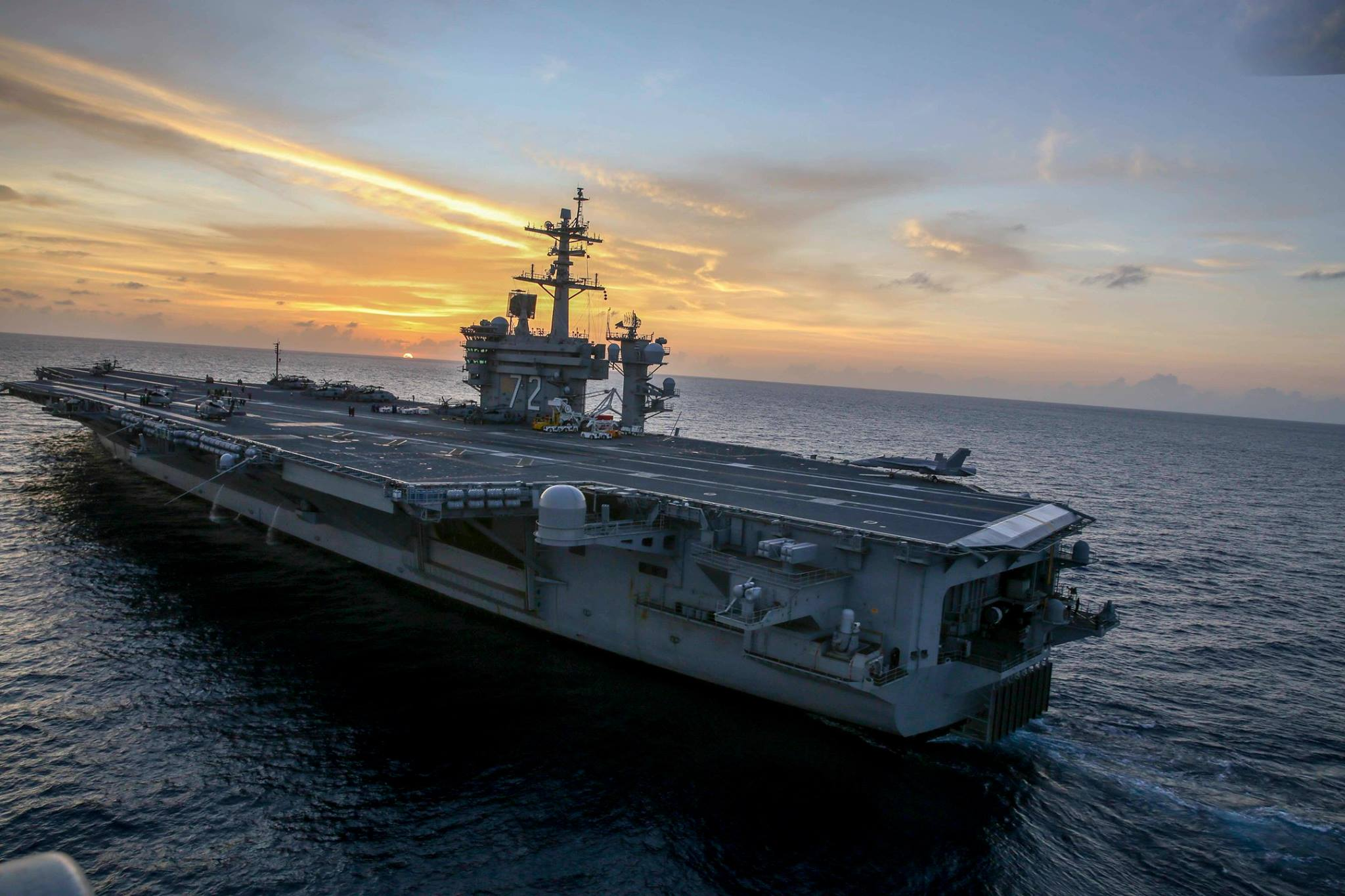 USS Abraham Lincoln carrier moving to San Diego, USS John C