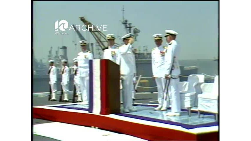 WAVY Archive: 1981 Norfolk Navy Change of Command