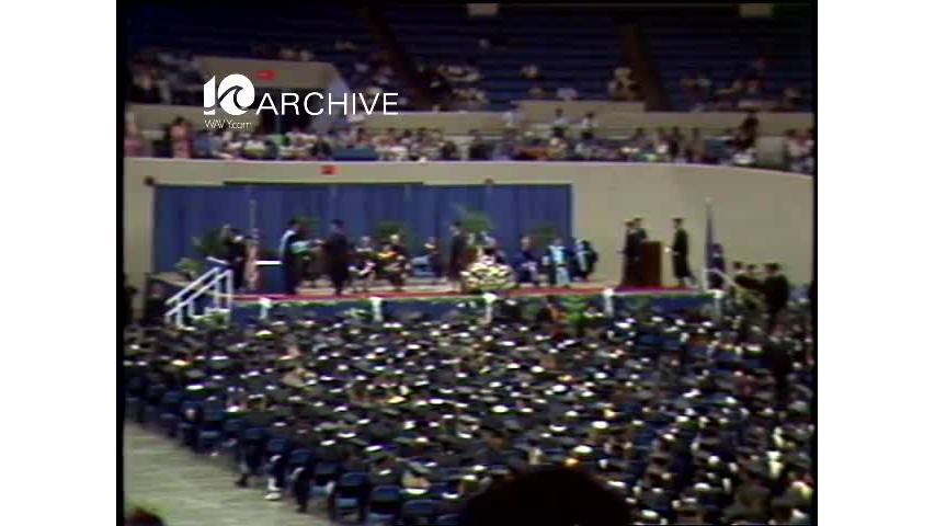 WAVY Archive: 1981 Tidewater Community College Graduation