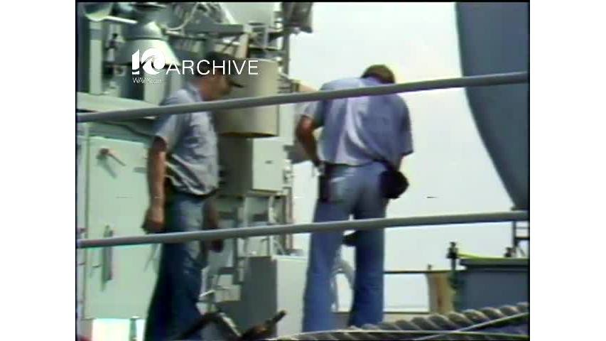 WAVY Archive: 1981 Navy Beards