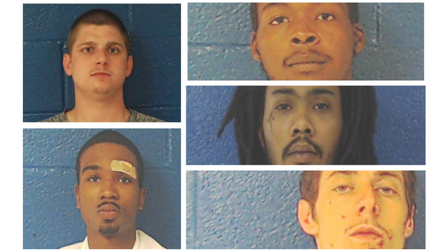 5 inmates kick through fence at Nash County, NC jail