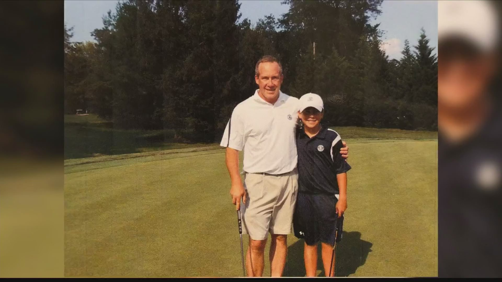 Hoffnagle overcomes loss of his father to excel on Golf Course