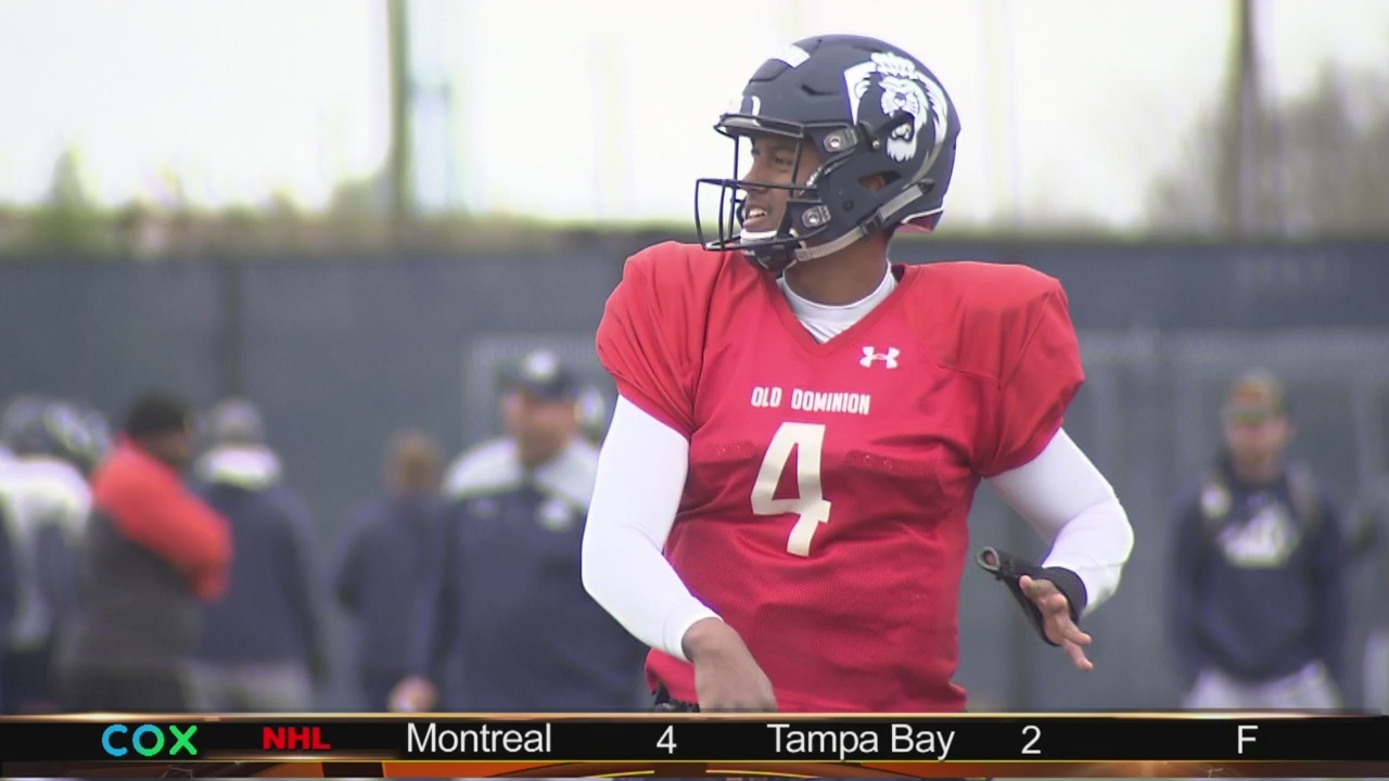 ODU in search of new QB at spring practice