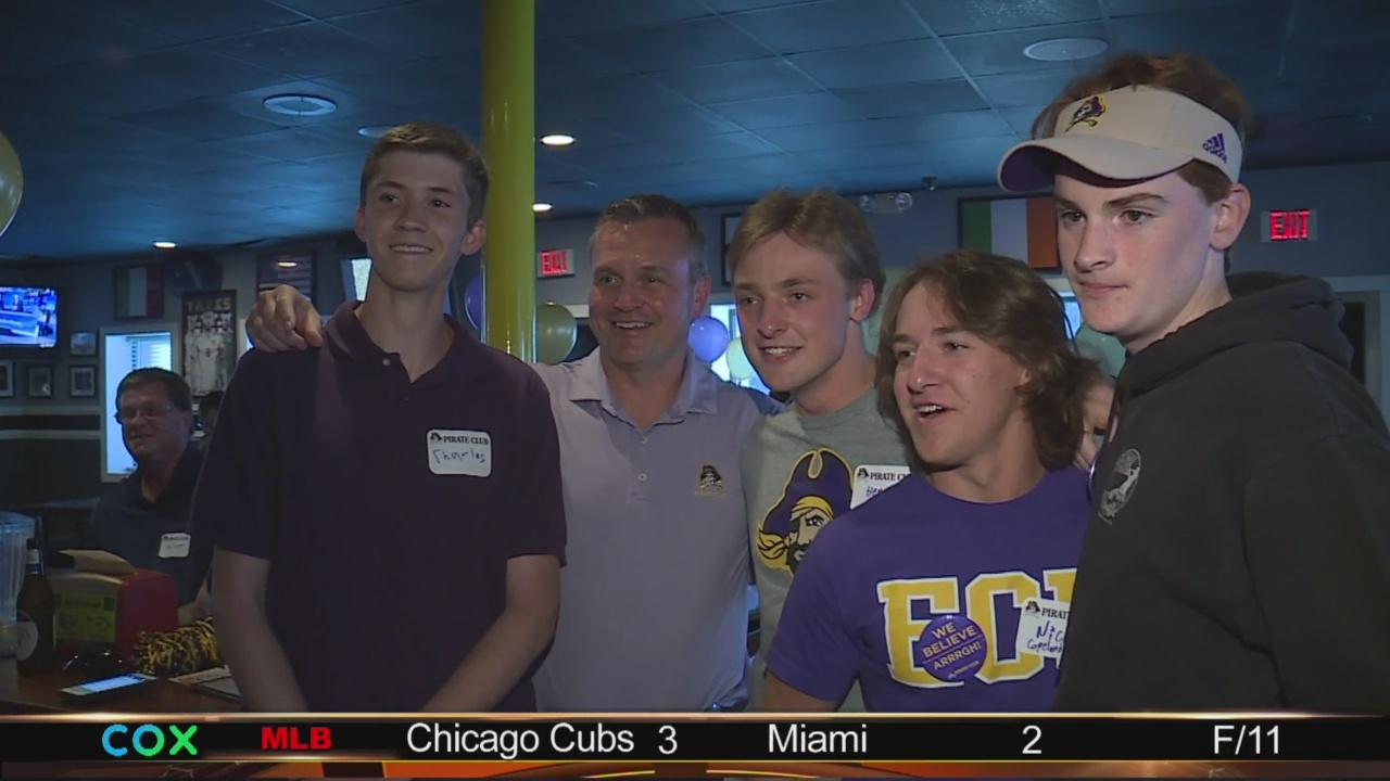 ECU fans hyped for Mike Houston era