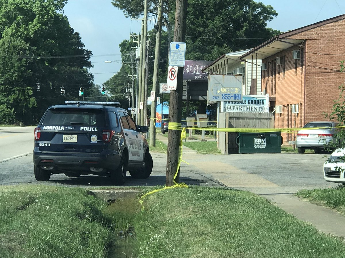 Man in critical condition after overnight shooting in Norfolk Azalea Garden Road Block Map on