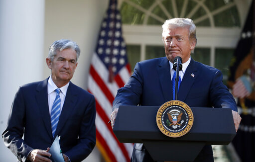 Donald Trump, Jerome Powell
