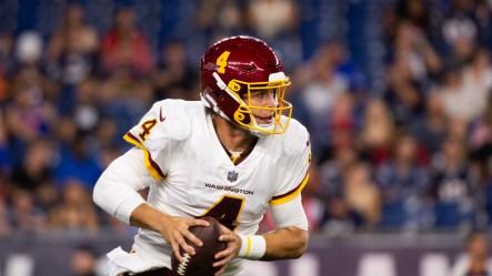 Taylor Heinicke to start for Washington Football Team following Fitzpatrick injury   WAVY.com