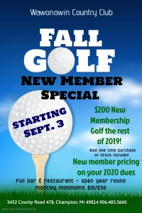 2019 Fall Golf Special - Made with PosterMyWall (1)