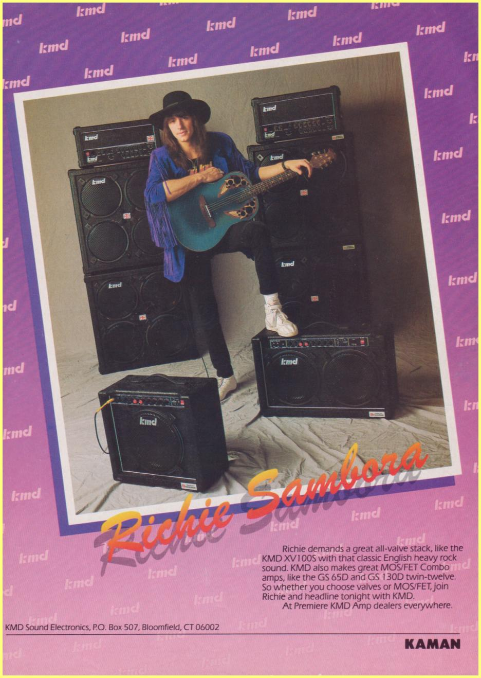 Richie Sambora Amplifiers  Waxernl