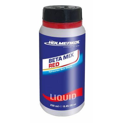 Betamix RED Liquid Nieuwe vloeibare wax variant van de bekende skiwax bar Betamix. - Voor alle sneeuwcondities - Voor sneeuwtemperaturen van -4 ° tot -14 ° C - Snelle en gemakkelijke applicatie