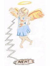 even angels can be negative