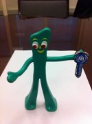 Gumby with Blue Key