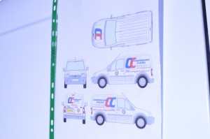 Commercial Vehicle Sign