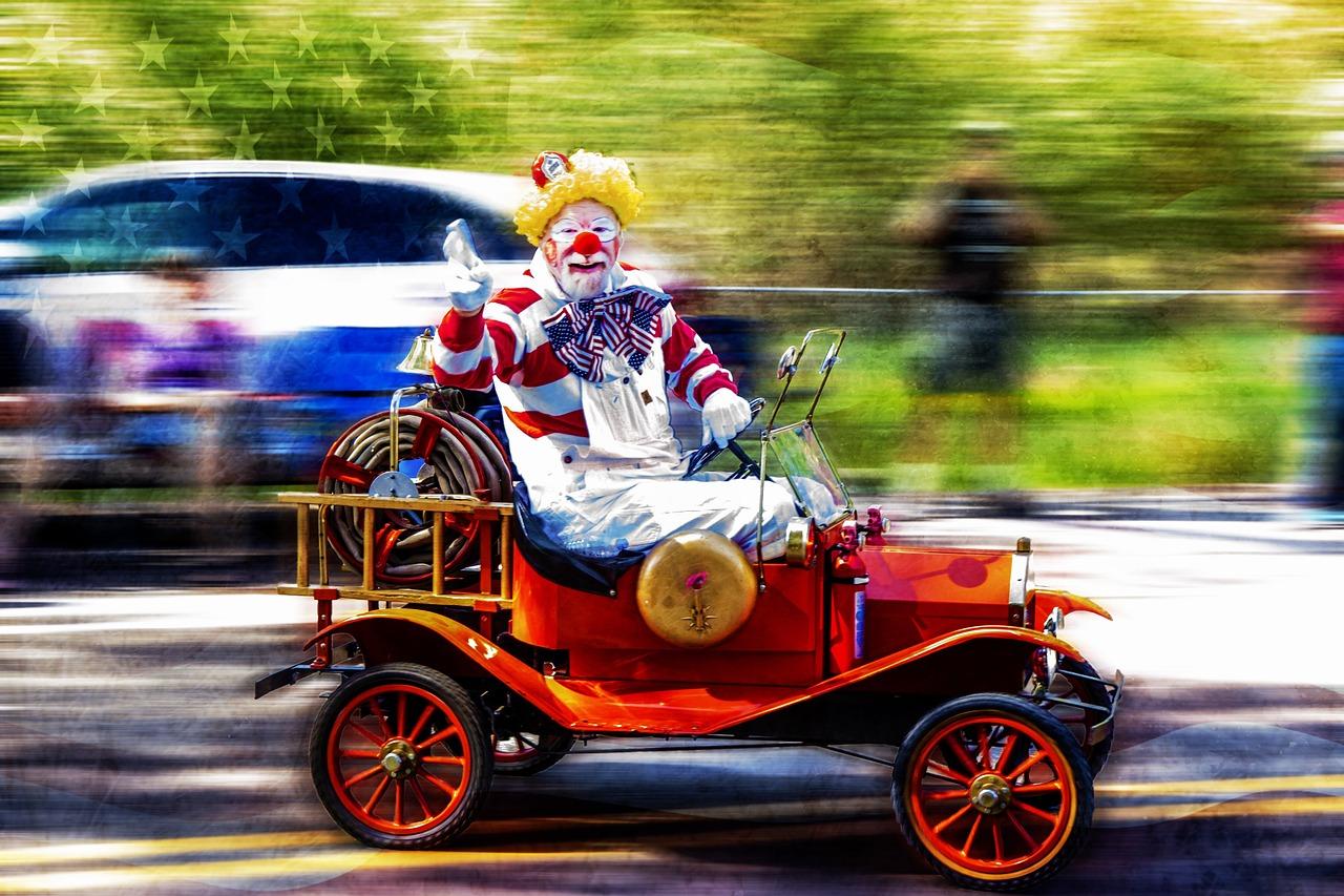 Clown Mario Barth