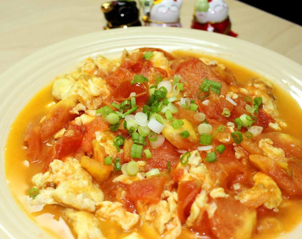 tomatoes fried eggs recipe