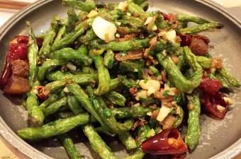 Dry Refried String Beans