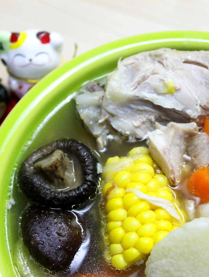 Chinese yam Chicken soup recipe