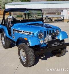 wayalife 1974 jeep cj5 renegade [ 1200 x 800 Pixel ]