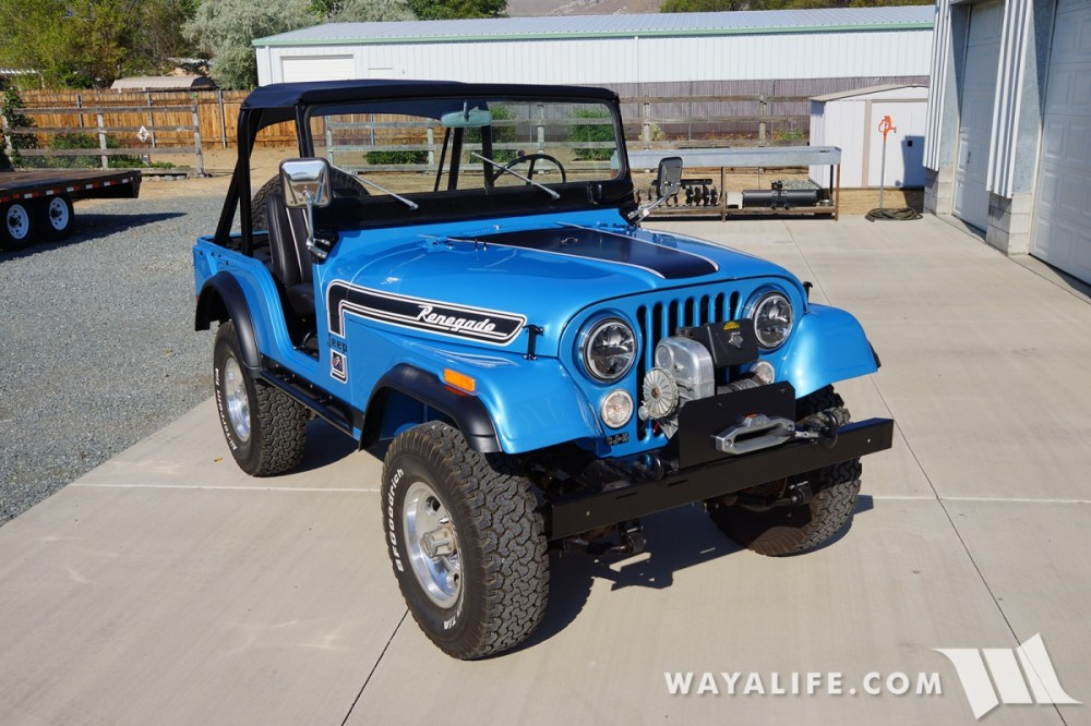 medium resolution of wayalife 1974 jeep cj5 renegade