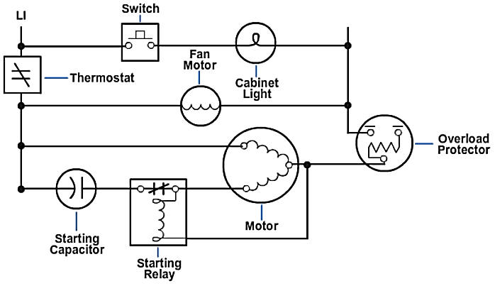 grounded schematic wiring diagram