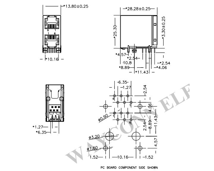 Rj11 6P6C Wiring Diagram Database