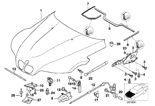 2000 Bmw Z3 Parts Diagram, 2000, Get Free Image About