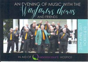 Tickets available for Wayfarers Chorus ch==Charity Concert 2017