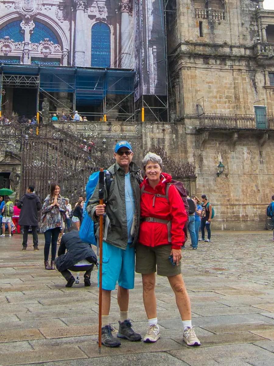 Friends on the Camino de Santiago Pilgrimage