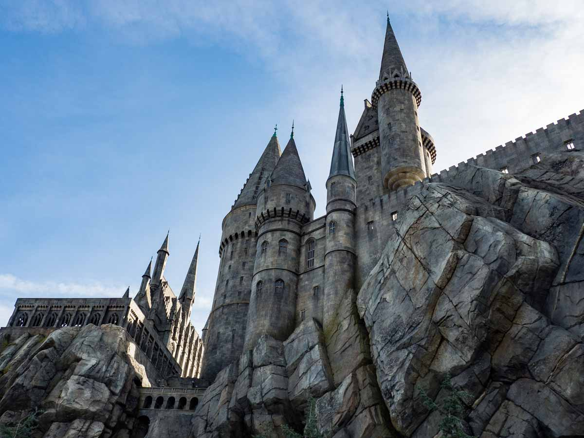 Hogwarts Castle Wizarding World Los Angeles