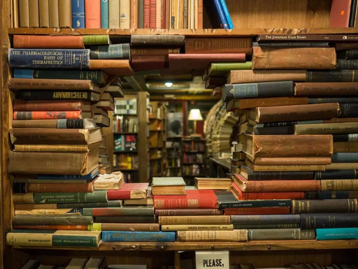 The Last Bookstore Los Angeles